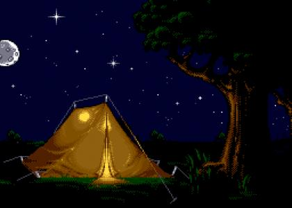 TRANQUILItmnd: Camping at Night