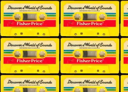 Fisher Price Tape Recorder Presents: Discover a World of Sounds