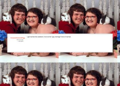 BREAKING NEWS: worlds most gayest ytmnd gets married