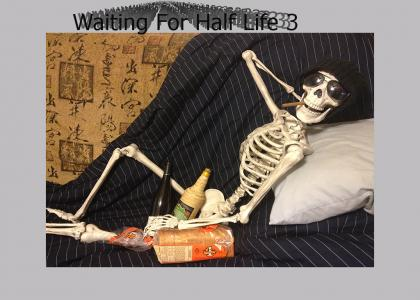 Waiting for Half Life 3