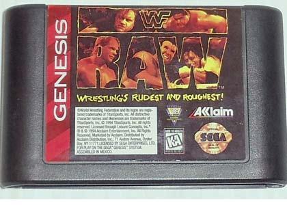 WWF Raw for SEGA Genesis