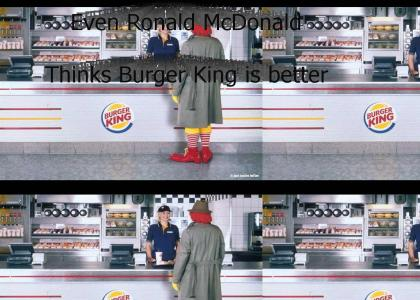 Ronald McDonald betrays McDonalds