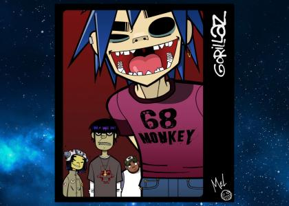 Gorillaz in Outer Space V2.0