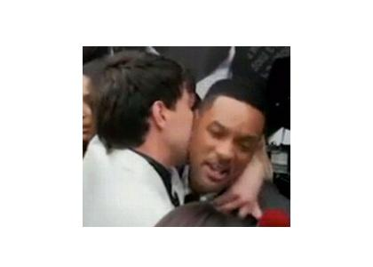 Will Smith Slaps Kissing Reporter