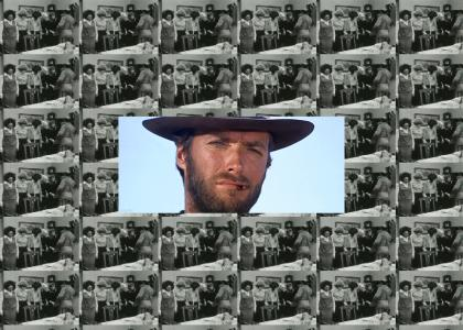 Clint Eastwood Approves of Slapping Bitches