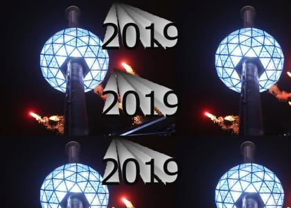 NEW YEARS 2019 HERE WE COME