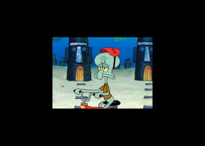 Mad World Squidward