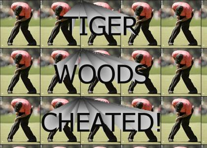 Tiger Woods spazzes out!