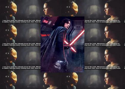 Kylo Ren sings Star Wars Cantina