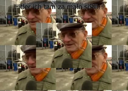 Polish man likes Adolf Hitler