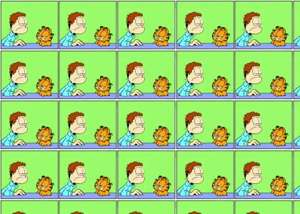 Garfield on Jon Arbuckle: The Logical Conclusion