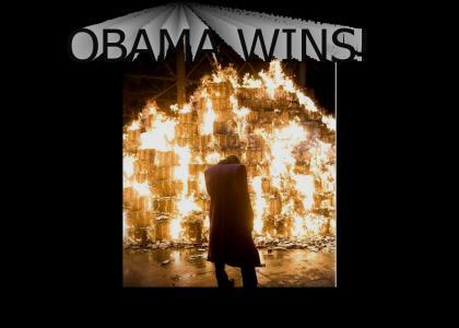 OBAMA WINS RE-ELECTION!