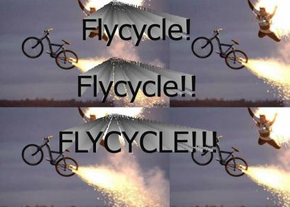 I want to ride my flycycle