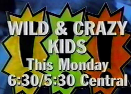 I have a VHS copy of Wild And Crazy Kids