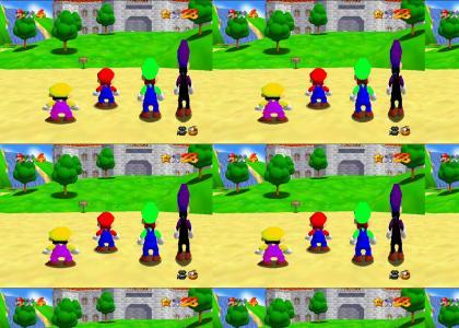 The Waluigi Mario Bros.
