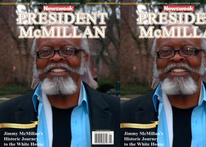 Thunderwing's Alternate History: Jimmy Mcmillan Wins The 2016 U.S. Presidential Election
