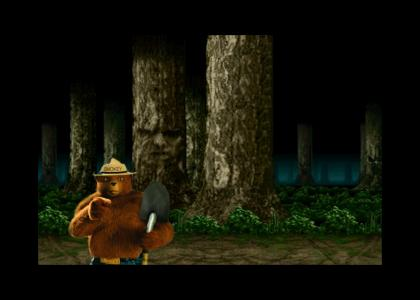 Only who can prevent forest fire?