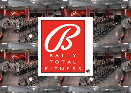 Get thin at Bally Total Fitness