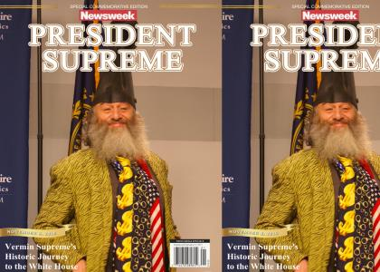 Thunderwing's Alternate History: Vermin Supreme Wins The 2016 U.S. Presidential Election