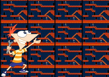Phineas and Ferb on NES