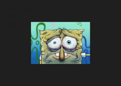 Spongebob has seen better days