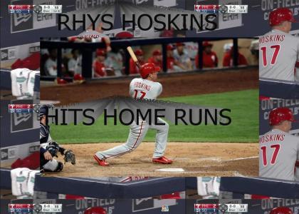 Rhys Hoskins Home Run Machine