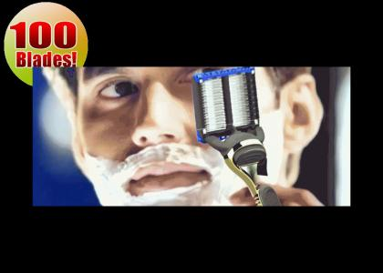 Gillette's new deep cut razor