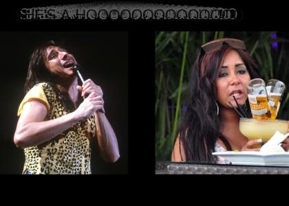Steve Perry sings about Snooki