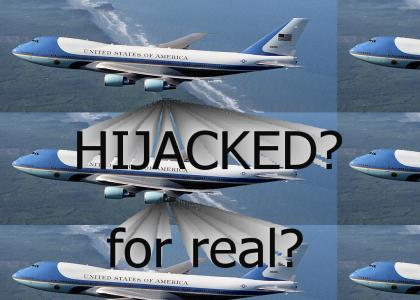 AIR FORCE ONE HIJACKED