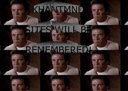 KHANTMND: We will remember YTMND for it's KHAN sites!