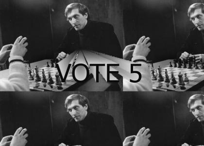 Bobby Fischer throws a tantrum