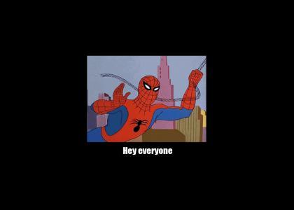 Spider-Man updates YTMND on his COVID-19 lockdown