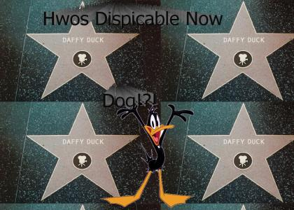 Daffy Duck in the Walk of Fame