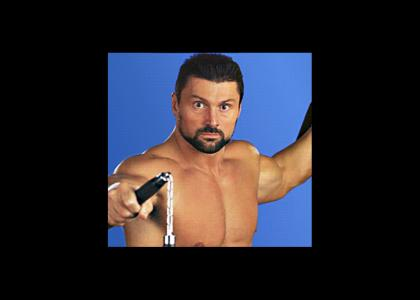 Steve Blackman Doesn't Change Facial Expressions