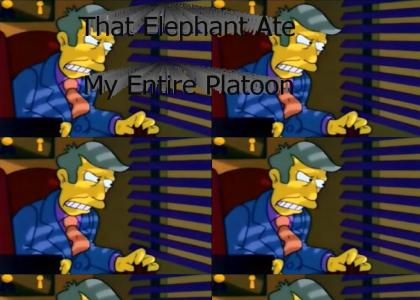 That Elephant Ate My Entire Platoon