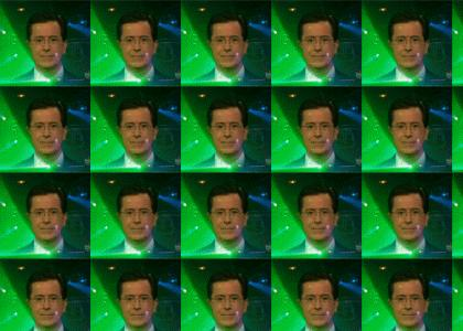 Stephen Colbert Raving