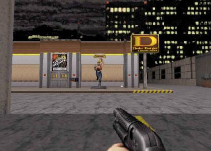 Duke Nukem's 3d Burger