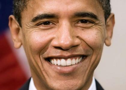 Barack Obama Stares Into Your Soul