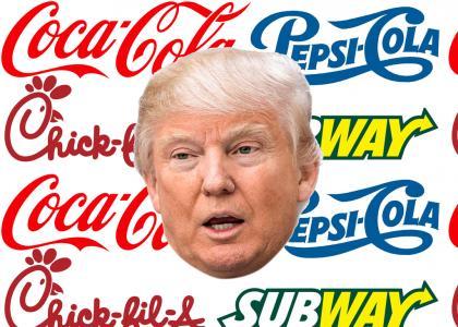 Coca-Cola, Pepsi-Cola, Chik-fil-A, Subway