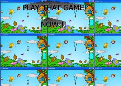 Play Catch A Bee! A PC Game! NOW!!!