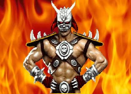 Let me rock you, Shao Kahn.