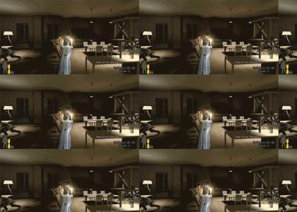 Elsa enters the Matrix