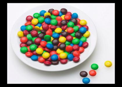 some kind of M&Ms