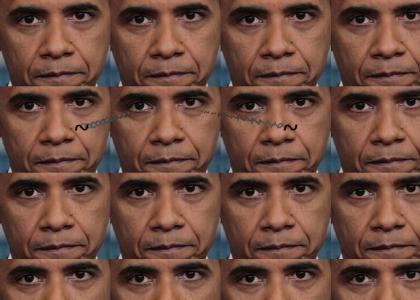 Obama Stares Into White Town's Soul