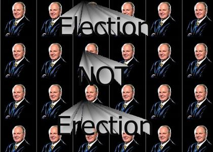 Election, Not Erection