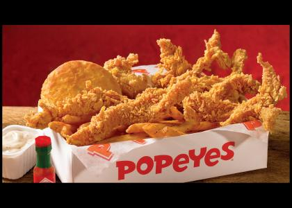 popeye's chicken awesome