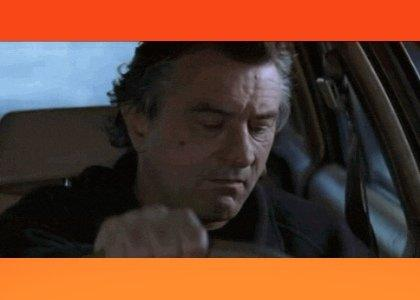 DeNiro tries to get his car fixed