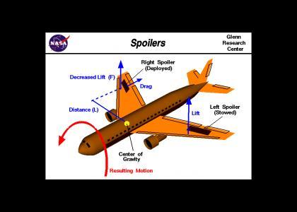 NASA Spoilers