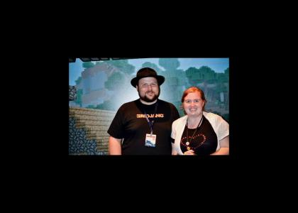 Minecraft creator Notch doesn't change facial expressions