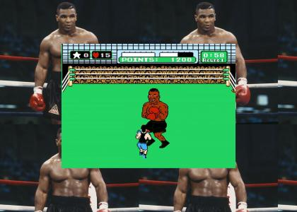Mike Tyson can't defeat himself